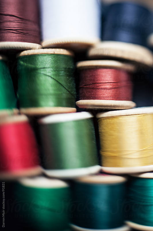 Close up of threads.  by Darren Muir for Stocksy United