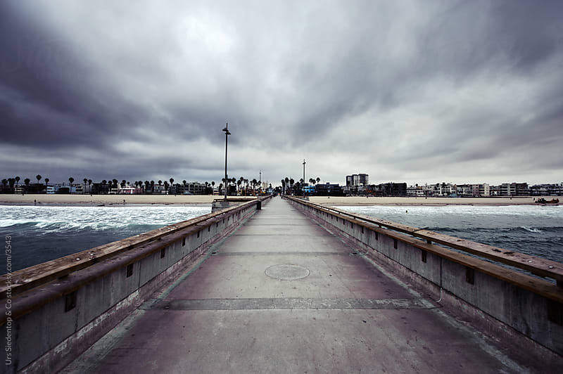 Pier in Venice Beach Los Angeles by Urs Siedentop & Co for Stocksy United