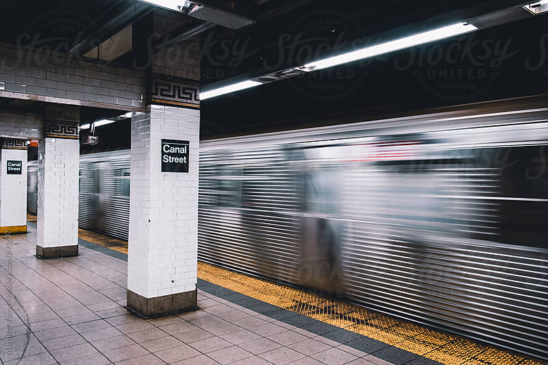 Canal Street Subway by Matthew Yarnell for Stocksy United