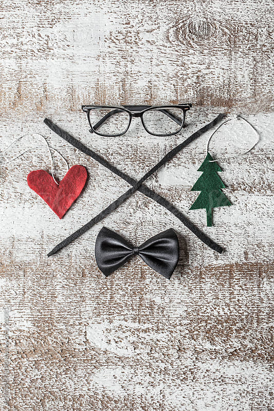 Hipster christmas decoration.  by BONNINSTUDIO for Stocksy United
