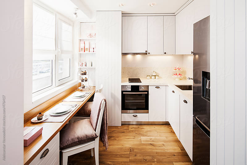 Modern kitchen by Aleksandar Novoselski for Stocksy United