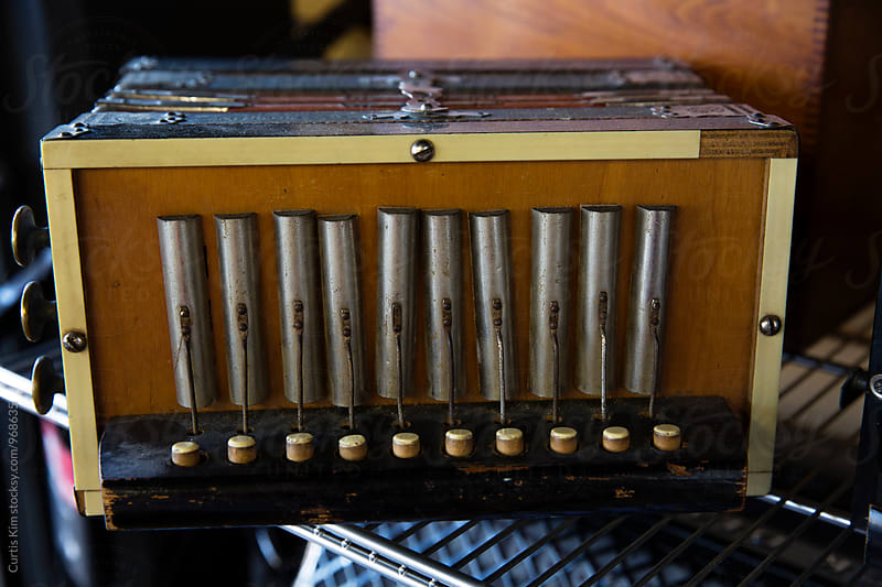 Vintage accordion by Curtis Kim for Stocksy United