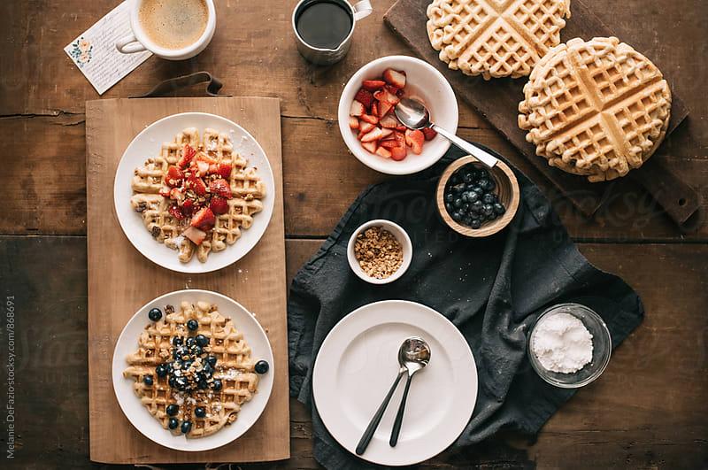 waffles by Melanie DeFazio for Stocksy United