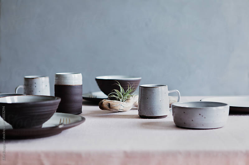 Ceramic collection by Ellie Baygulov for Stocksy United
