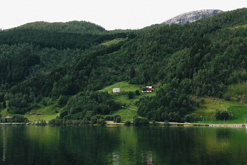 Norwegian Fjord Landscape by Agencia for Stocksy United