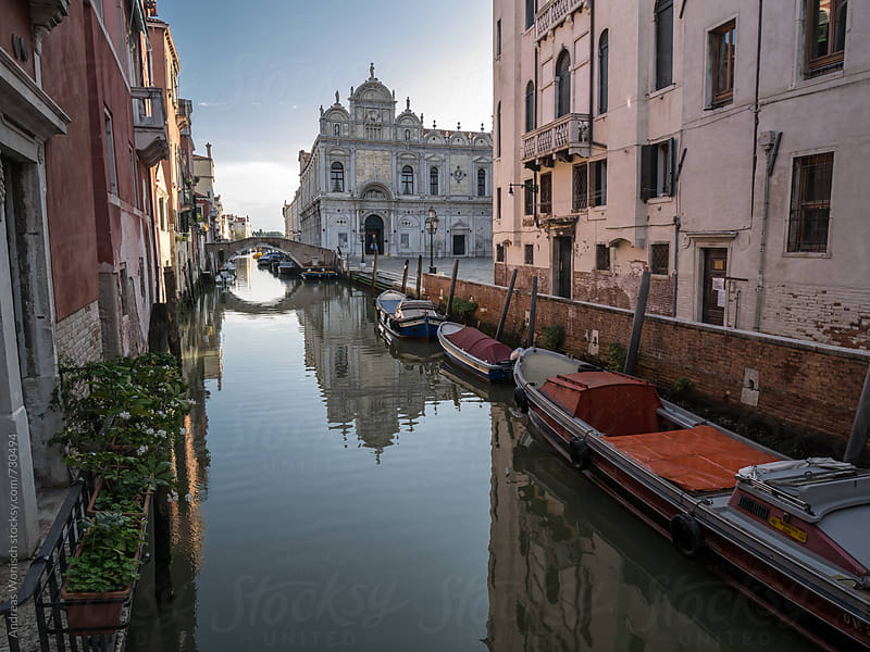 Street impression of Venice by Andreas Wonisch for Stocksy United