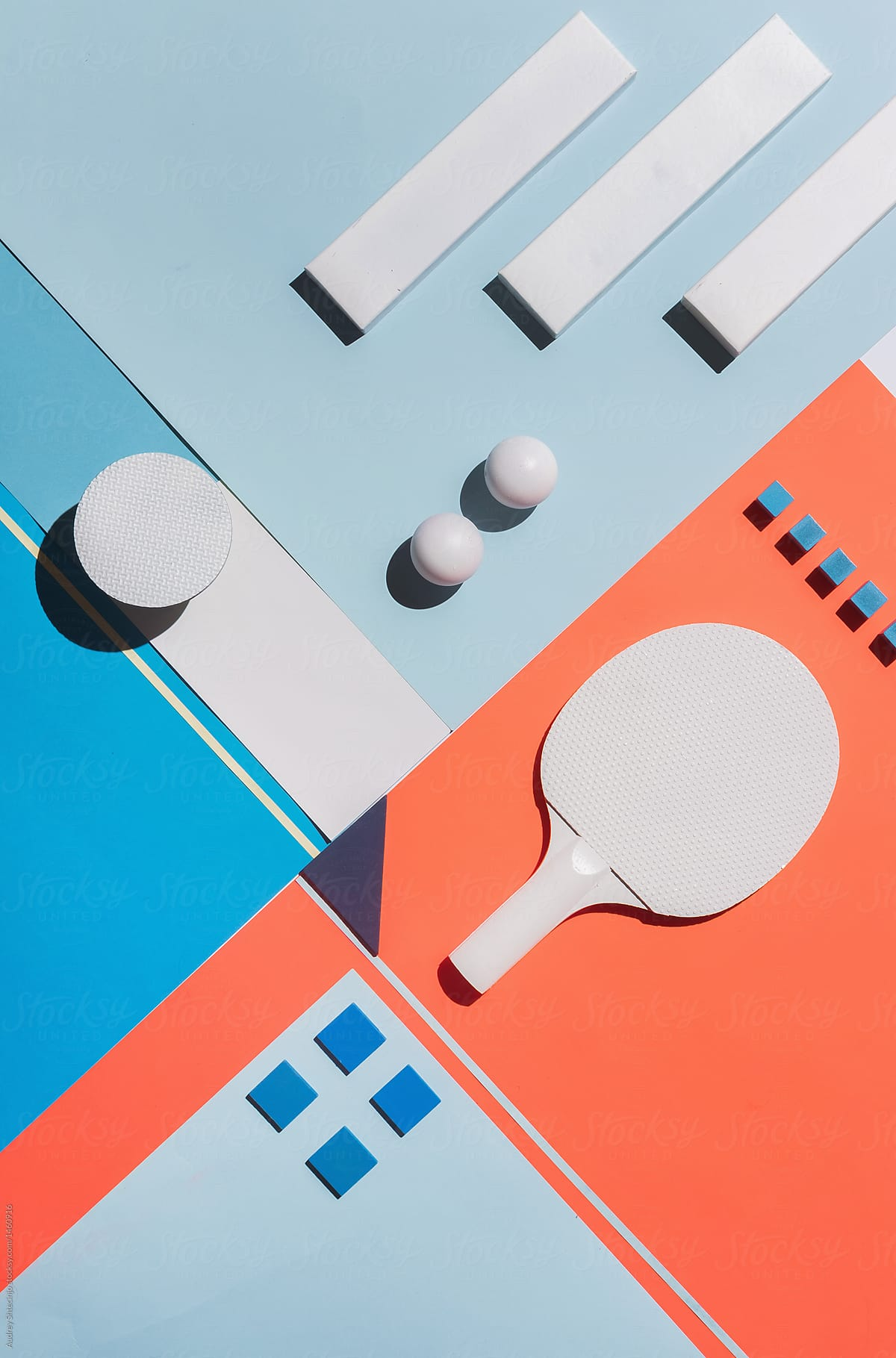 Abstract Conceptual Geometry Set Up/Composition. | Stocksy United