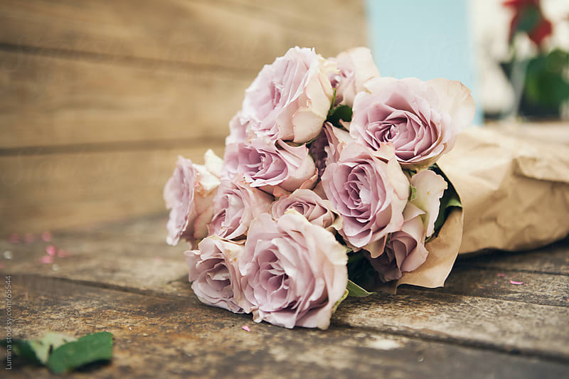 Pink Rose Bouquet by Lumina for Stocksy United