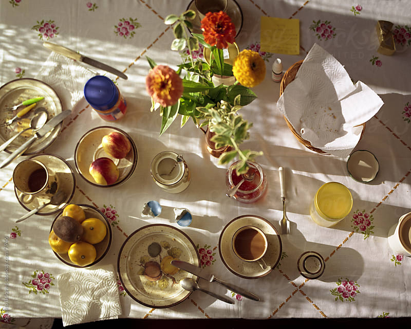 Gramma's Old Fashioned Breakfast Table by Joselito Briones for Stocksy United