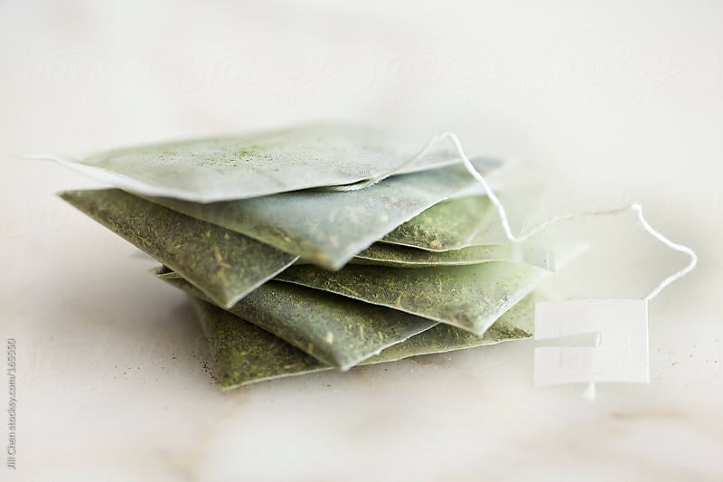Organic Green Tea Bags by Jill Chen for Stocksy United