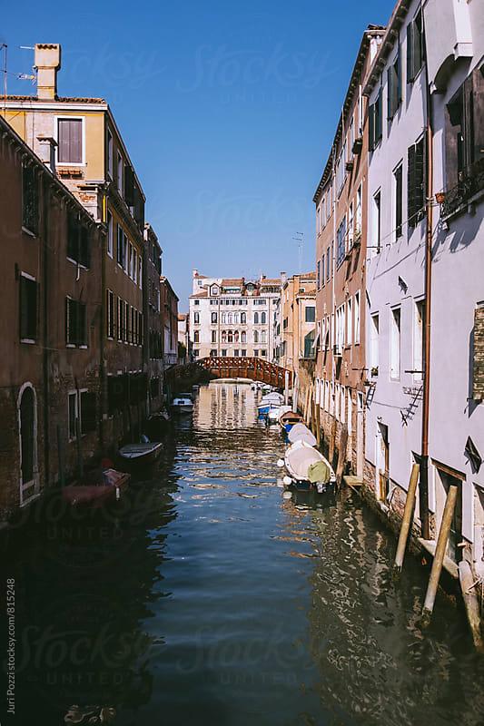Venetian canal by Juri Pozzi for Stocksy United