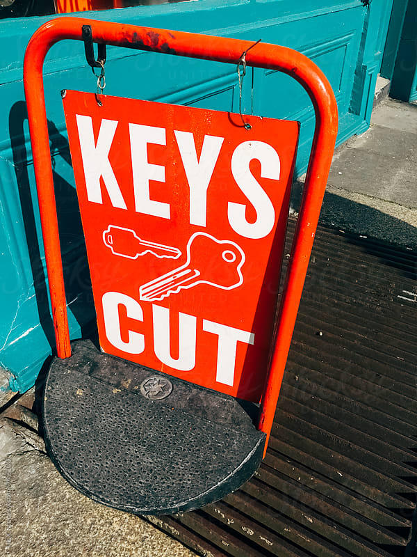 Key Cut Sign by HEX. for Stocksy United