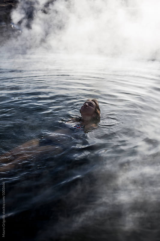 hot pools at El Tatio geysers, Atacama, Chile. by Mauro Grigollo for Stocksy United