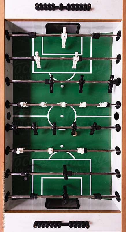 Table football from above by Urs Siedentop & Co for Stocksy United
