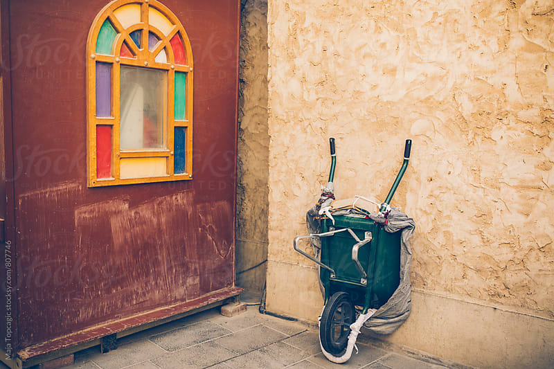 Colourful details on the streets of Doha by Maja Topcagic for Stocksy United