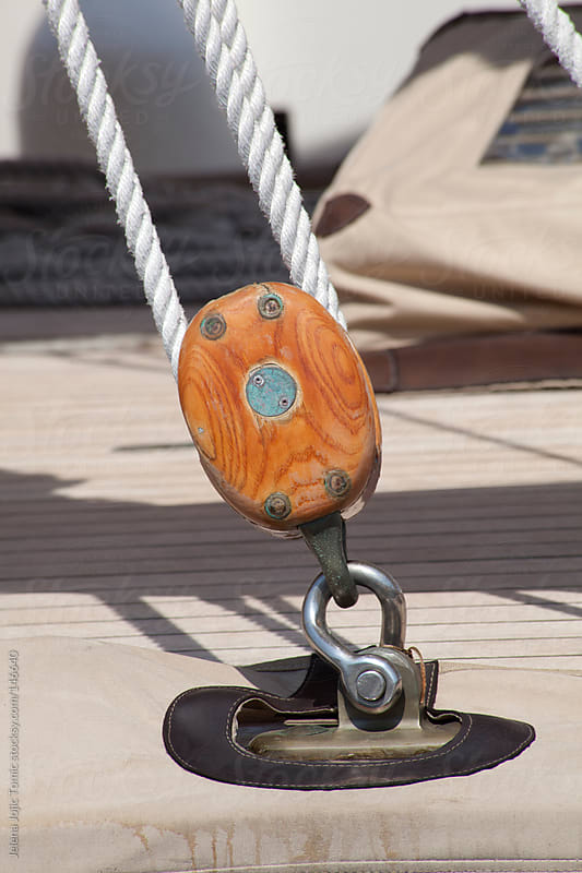 Sailing pulley by Jelena Jojic Tomic for Stocksy United