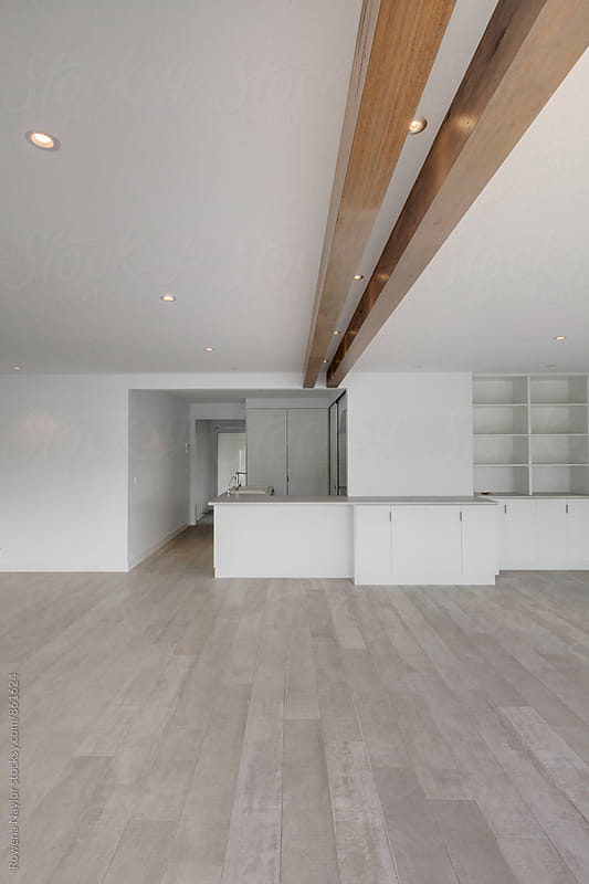 Modern empty kitchen by Rowena Naylor for Stocksy United