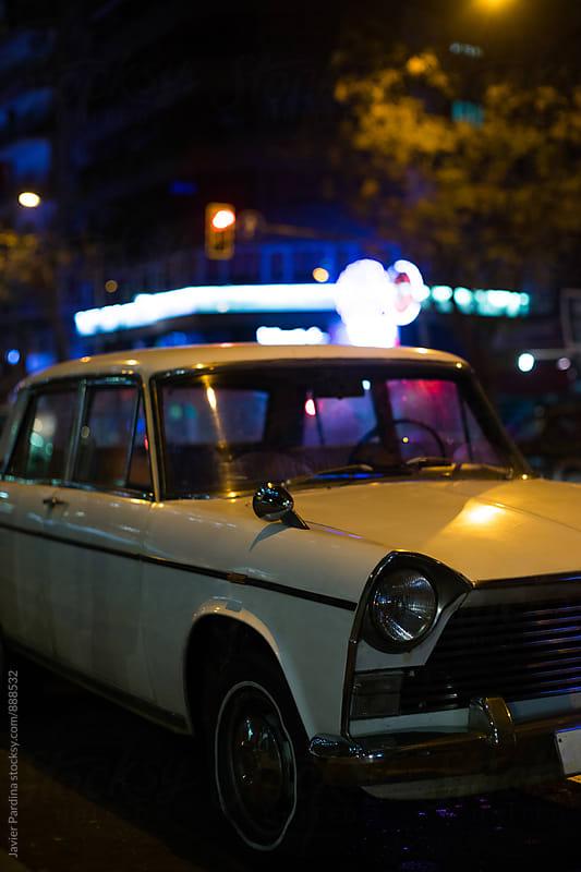 details of vintage car by Javier Pardina for Stocksy United