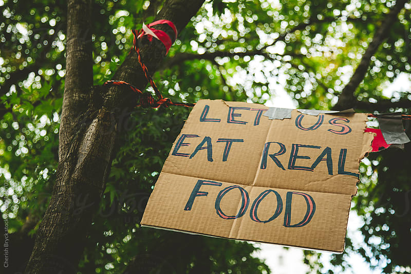 Let us eat real food. by Cherish Bryck for Stocksy United