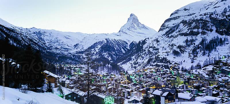 Matterhorn, Zermatt, Valais, Swiss Alps, Switzerland, Europe by Gavin Hellier for Stocksy United