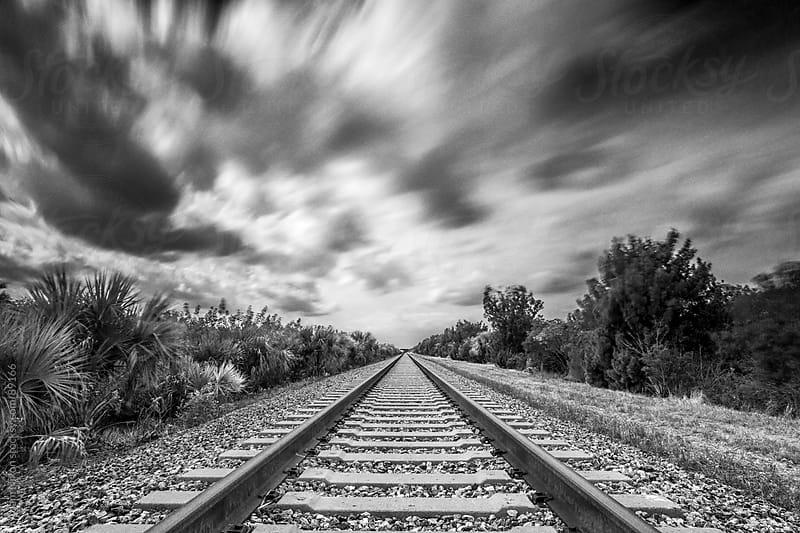 Train Tracks by Adam Nixon for Stocksy United