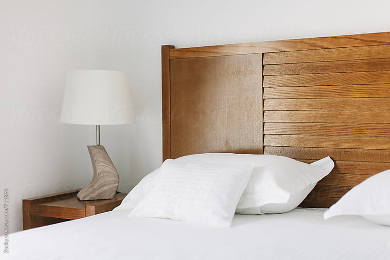 Corner of bedroom by Zocky for Stocksy United