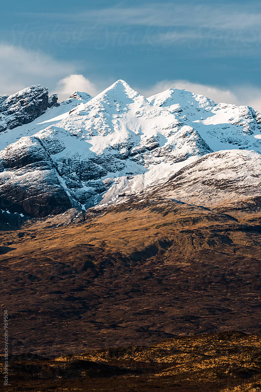 Cullin Mountains, Isle of Skye by Richard Jones for Stocksy United