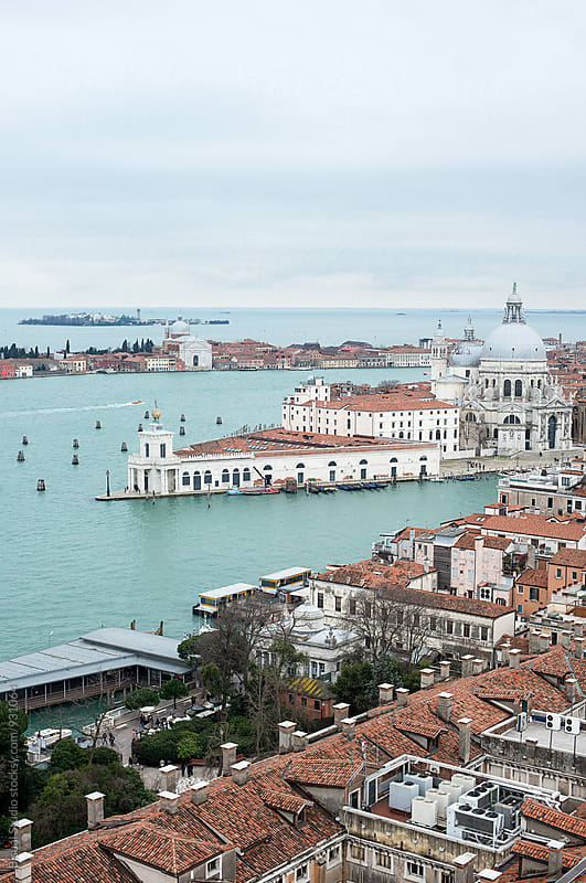 View of Venice from St Mark's Campanile, Venice by Bisual Studio for Stocksy United
