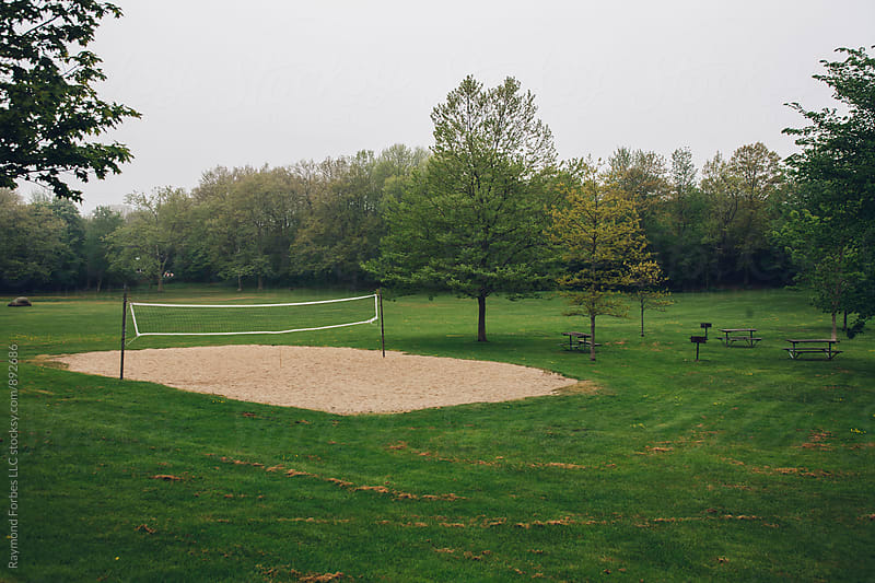 Volleyball Court in Newport by Raymond Forbes LLC for Stocksy United