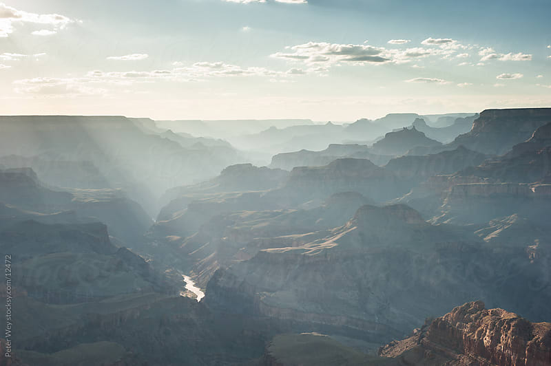 Grand Canyon National Park: View from South Rim by Peter Wey for Stocksy United