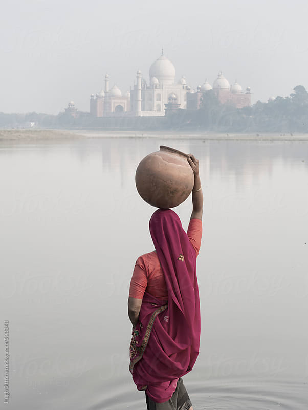 The Taj Mahal. Agra. India. by Hugh Sitton for Stocksy United