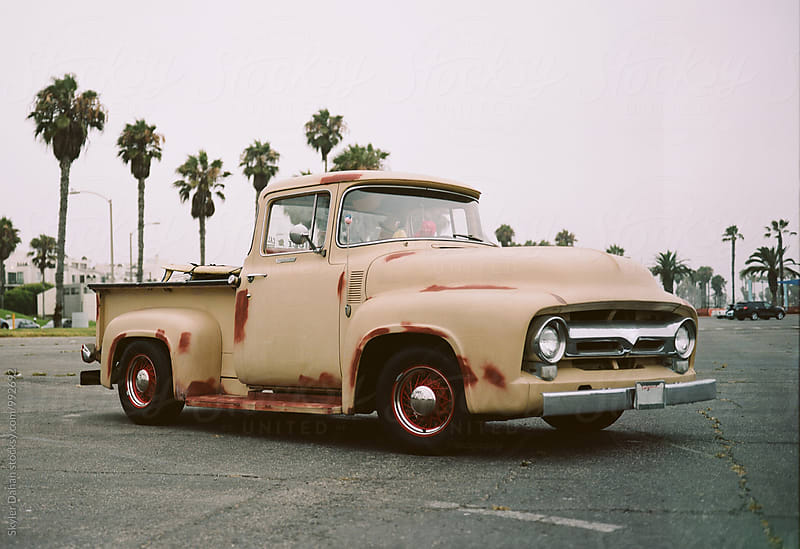 Vintage Pick up Truck  by Skyler Dahan for Stocksy United