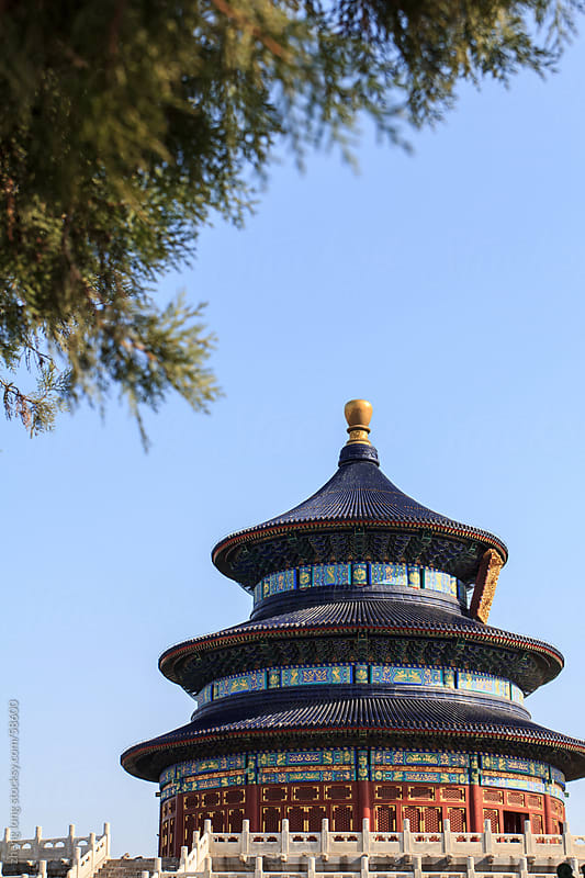 temple of heaven,Beijing by zheng long for Stocksy United