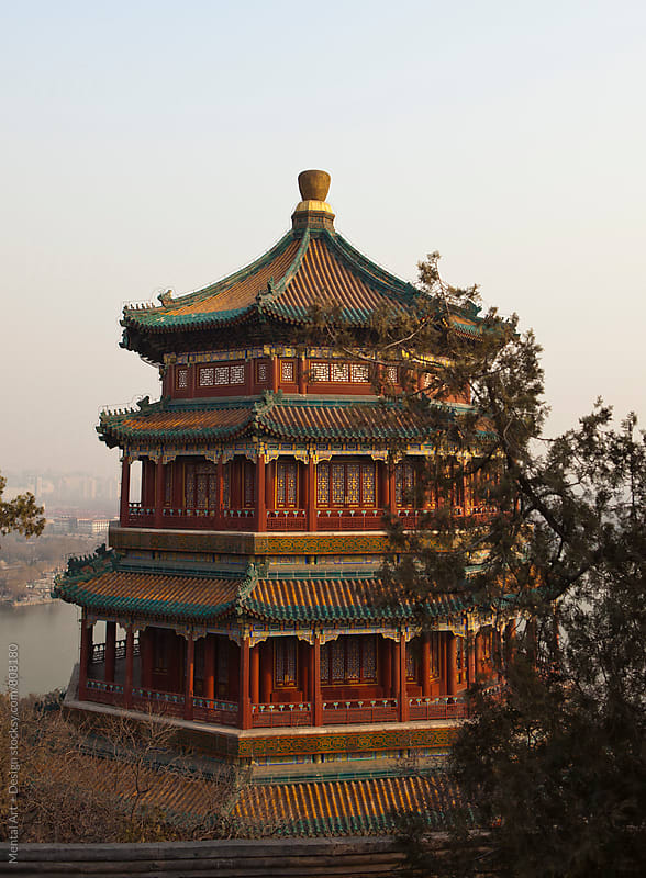Summer Palace,Forbidden City, Beijing, China  by Mental Art + Design for Stocksy United