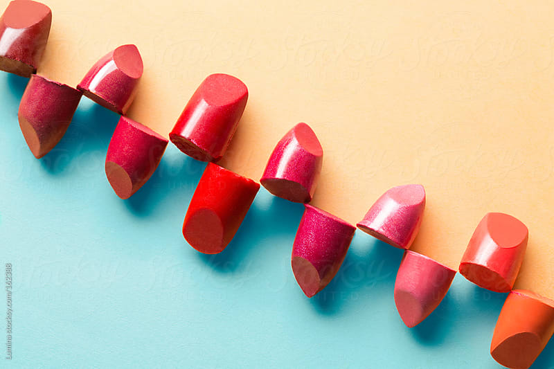 Broken Lipsticks by Lumina for Stocksy United