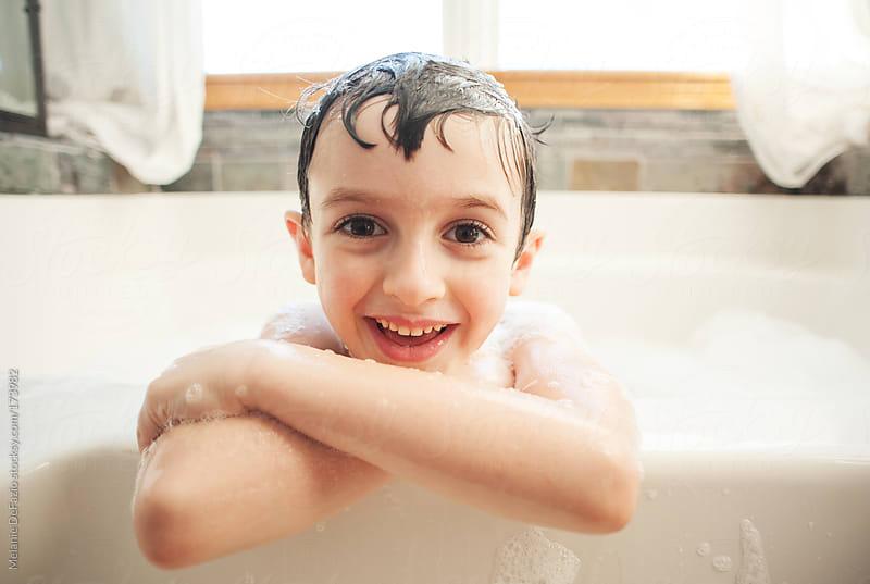 Bath fun by Melanie DeFazio for Stocksy United