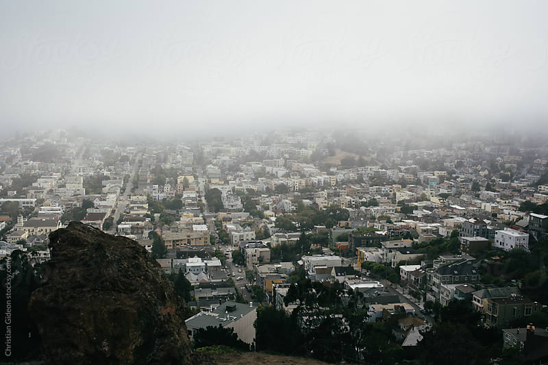 San Francisco from above by Christian Gideon for Stocksy United