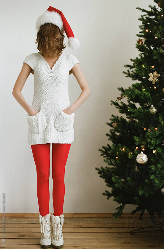 Christmas Girl by Milles Studio for Stocksy United
