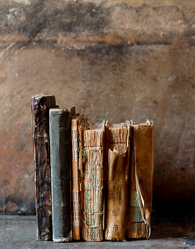 Stack of Antique Books by Studio Six for Stocksy United