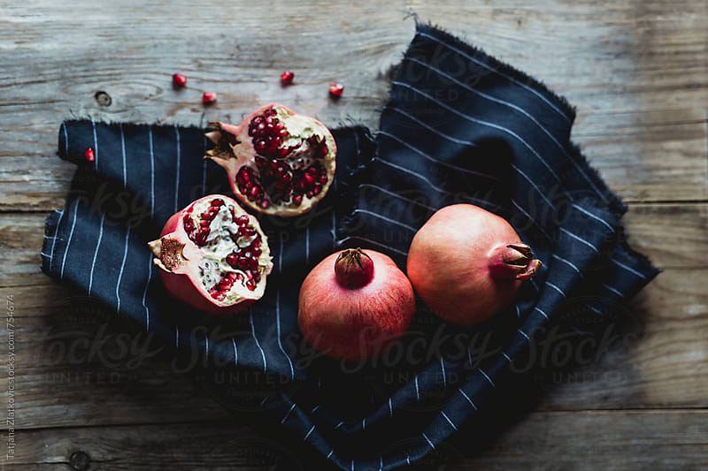 Pomegranate by Tatjana Ristanic for Stocksy United