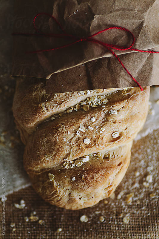 Homemade Bread by Kristian Lynae Irey for Stocksy United