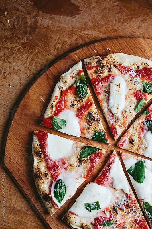 Pizza by Andrew Cebulka for Stocksy United