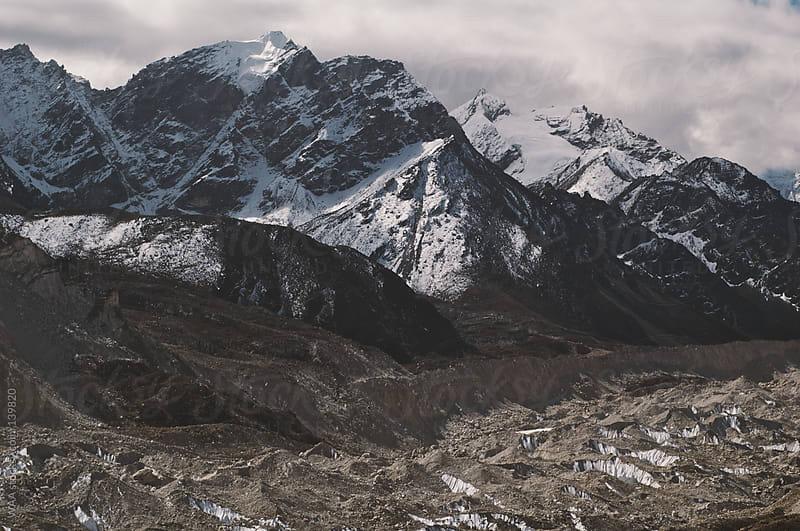 Khumbu Glacier, Himalayas by WAA for Stocksy United