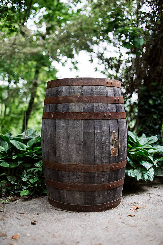 Old Wooden Barrel by Jack Sorokin for Stocksy United
