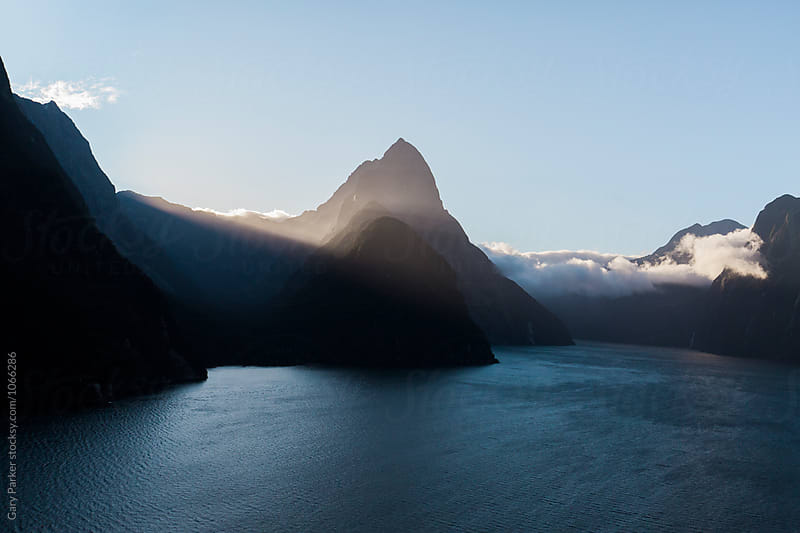 Mountains and Water by Gary Parker for Stocksy United