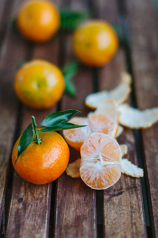 Tangerines by Zocky for Stocksy United