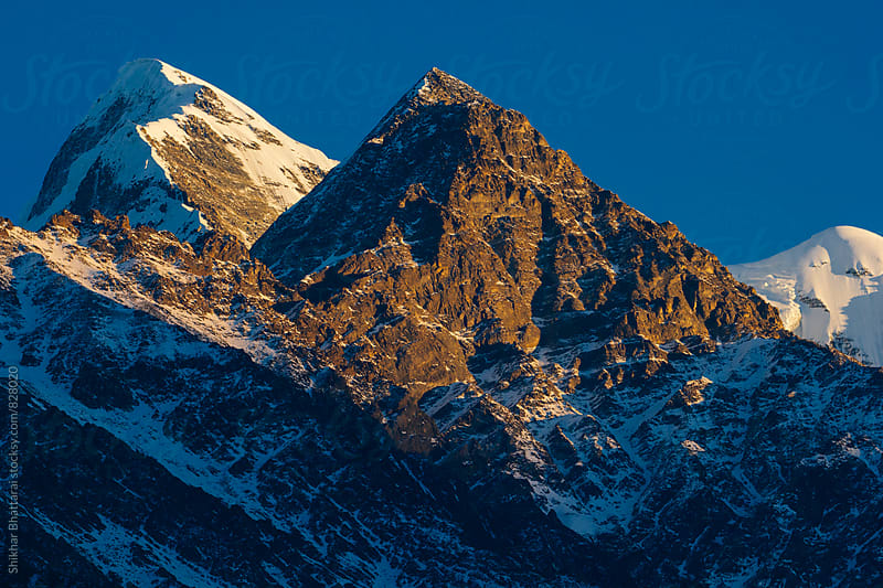 Mount Nilgiri(7061 m), as seen from Mustang, Nepal. by Shikhar Bhattarai for Stocksy United