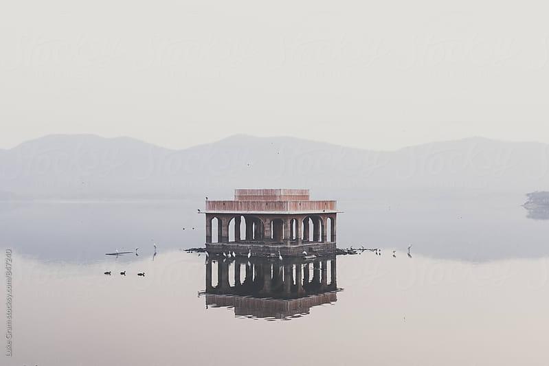 Jal Mahal, Jaipure by Luke Gram for Stocksy United
