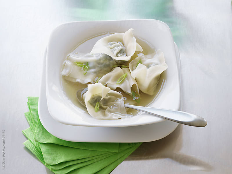 Wonton Soup by Jill Chen for Stocksy United
