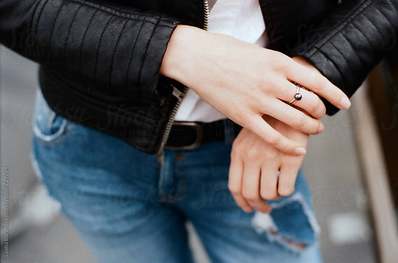 Close up shot of woman's  hands by Lyuba Burakova for Stocksy United